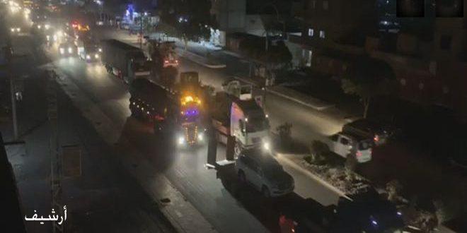 США отправили в Эль-Камышлы и Хасаке очередной конвой из десятков транспортных средств