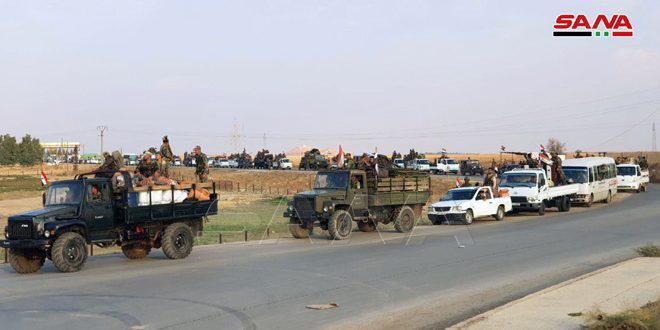 Подразделения САА обеспечили безопасное движение на международной трассе Хасаке-Алеппо