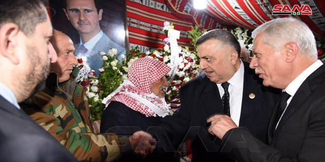 По поручению президента Аль-Асада принесены соболезнования семье погибшего в ДТП депутата Народного совета от провинции Дамаск