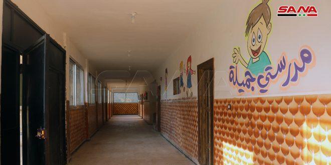 В Дейр-эз-Зоре открыта еще одна отремонтированная школа
