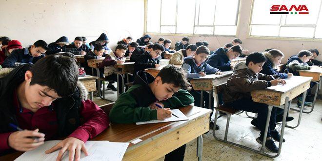 Во всех школах Сирии начались экзамены за первое полугодие учебного года