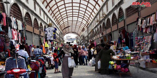 Завершился третий этап восстановления рынка в Старом городе Хомса