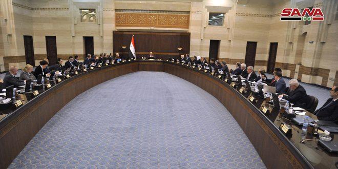 Кабмин САР обсудил работу ведомств в реализации указов президента Аль-Асада