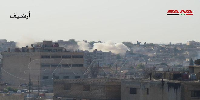 В провинции Хасаке турецкие оккупанты повредили ЛЭП, питающую подстанцию в Тель-Тамре