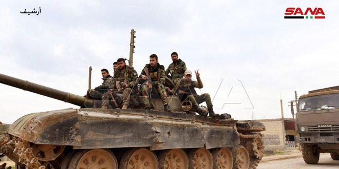 Армейцы продолжают теснить боевиков в провинциях Идлеб и Алеппо - Сирийское арабское информационное агентство САНА