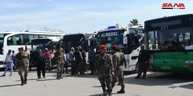 Администрация Дамаска обеспечила военнослужащих автотранспортам для перевозки во время их отпусков