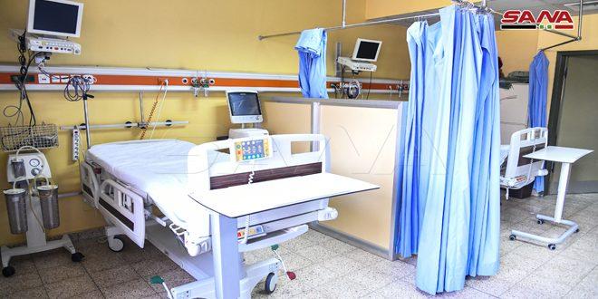 Университетская клиника им. Аль-Асада в Дамаске полностью готова к приему зараженных коронавирусом