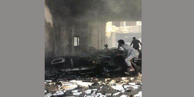 В Рас Аль-Айне в результате взрыва заминированной машины 2 детей погибли, еще 3 человек пострадали