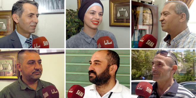 Общественность провинции Сувейда: «Закон Цезаря» нацелен на усиление давления на сирийский народ
