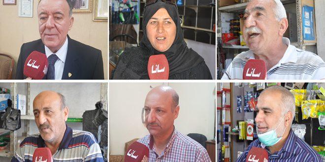 Жители Хасаке и Латакии: «Закон Цезаря» — экономический терроризм и военное преступление против сирийцев