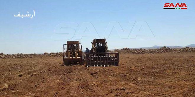 В провинции Дараа проведена мелиорация 665 гектаров земель