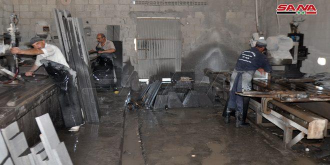 В Сувейде за полгода заработали еще 16 ремесленных и промышленных мастерских