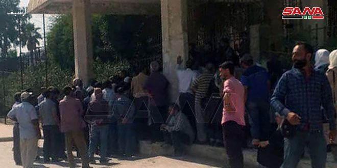 Группировки «Касад» захватили здание филиала Главного управления по зерновым культурам в городе Хасаке