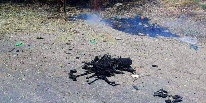 В районе Рас Аль-Айн при взрыве заминированного мотоцикла ранены несколько человек