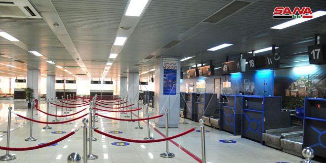 Завершена подготовка к открытию Дамасского международного аэропорта 1 октября текущего года
