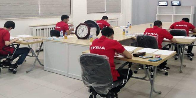 Сирия участвует в Международной математической олимпиаде, организованной дистанционно Россией