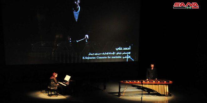 Выпускники Высшего института музыки в Дамаске продемонстрировали свои таланты