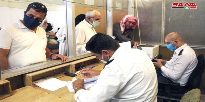 В отделении миграционной службы Дараа облегчена процедура оформления загранпаспорта