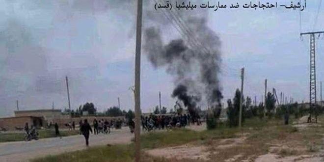 Боевики «Касад» похитили троих человек на западе провинции Ракка