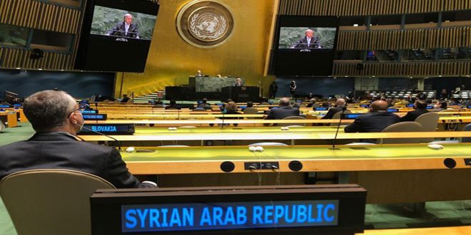 В Нью-Йорке при участии постпреда САР при ООН Аль-Джафари стартовала неделя «высокого уровня»