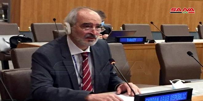 Аль-Джафари: Оккупированные Голаны были, есть и будут оставаться сирийской землей