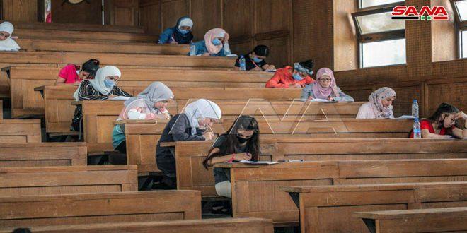 В Сирии стартовал первый этап Сирийской научной олимпиады школьников