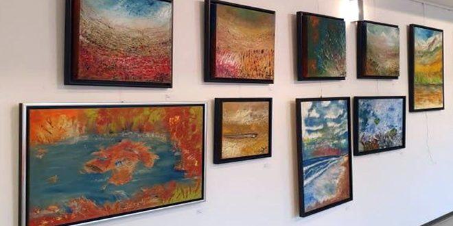 В Варшаве проходит выставка работ сирийской художницы Абир Аль-Асад