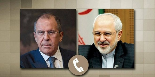 Лавров и Зариф обсудили ситуацию в Сирии, регионе Нагорного Карабаха и ядерную сделку Ирана
