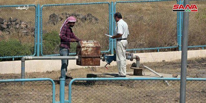 В Хасаке введены в эксплуатацию две новые водозаборные скважины