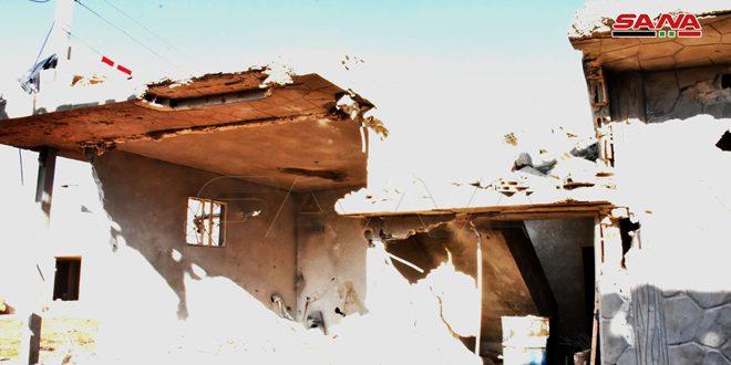 Военный источник: В Хаме в результате израильской агрессии погибла семья из четырех человек