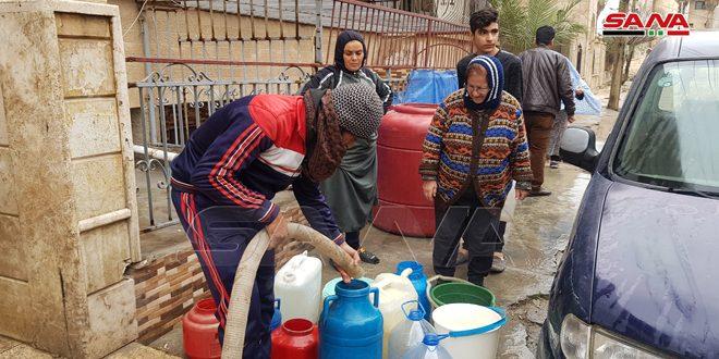 Турецкие оккупанты продолжают перекрывать подачу питьевой воды в город Хасаке