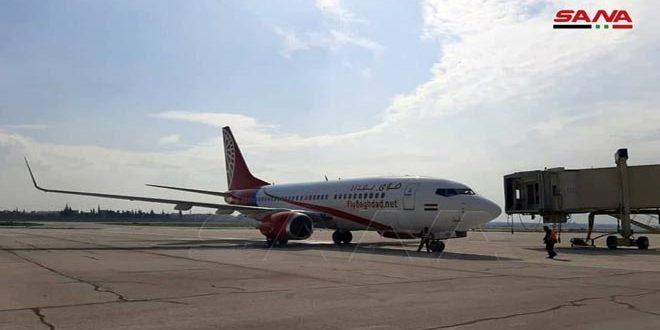 В международный аэропорт Алеппо из Эрбиля прибыл первый рейс иностранной авиакомпании