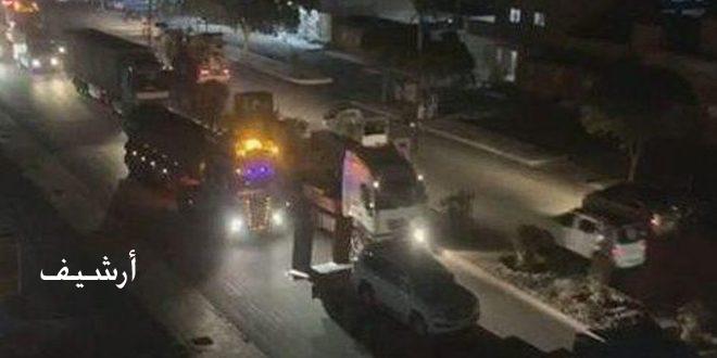 Оккупационные силы США переправили 45 грузовиков с украденным зерном из Хасаке на север Ирака