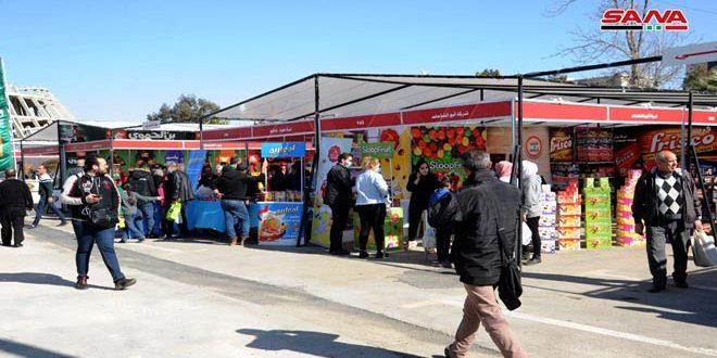 В Дамаске в месяц Рамадан при участии около 200 компаний открыта благотворительная ярмарка