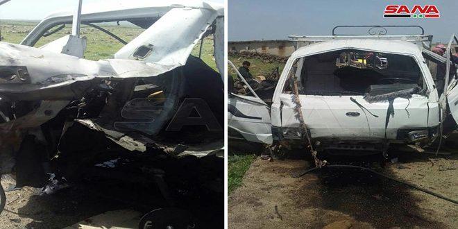 Мирный житель стал жертвой взрыва заминированного автомобиля в провинции Кунейтра