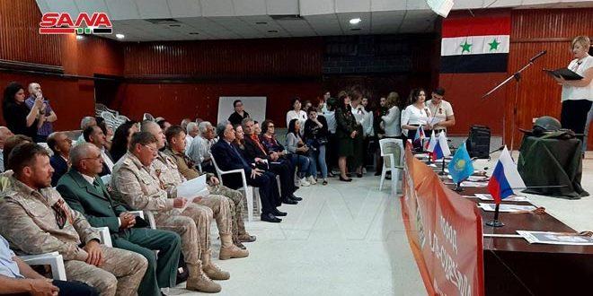 В Сувейде отпраздновали День Победы над фашизмом