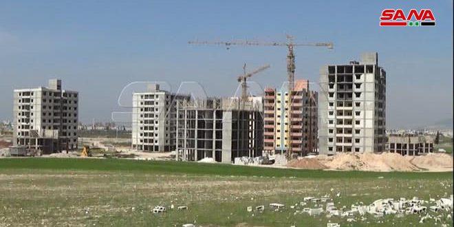 Главная компания по строительству в Южном регионе заключила контрактов на 41 млрд сирийских фунтов