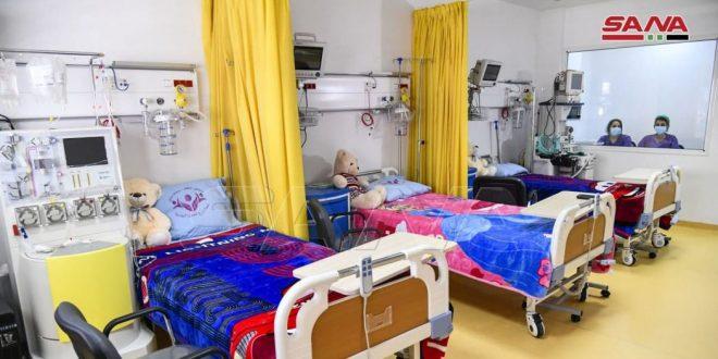 Завершаются приготовления к запуску Центра трансплантации стволовых клеток крови и клеточной терапии для детей в Сирии