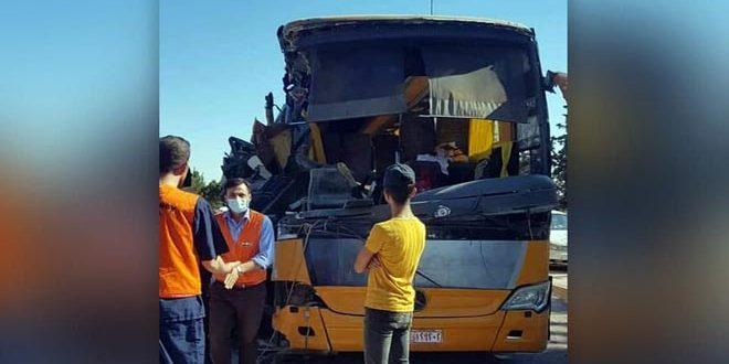 На трассе Хама — Хомс в результате ДТП пострадали 18 студентов