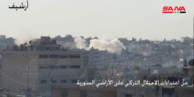 Под удар протурецких боевиков попали жилые дома на севере провинции Алеппо