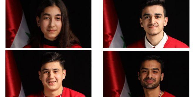 На Международной олимпиаде по химии Сирия завоевала 3 бронзовые медали и почетную грамоту