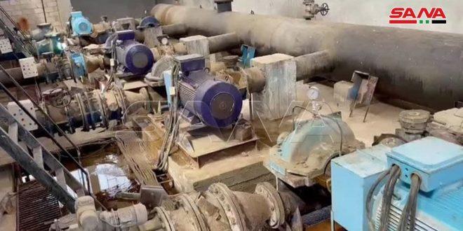 В Хасаке в рамках проекта «Аллюк» введена в эксплуатацию еще одна водонасосная скважина