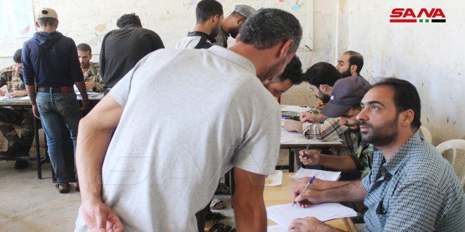 В поселке Тель-Шхаб провинции Дараа идет процесс примирения