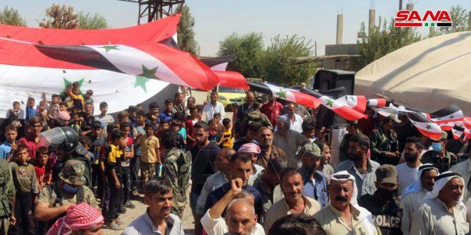 В провинции Дейр-эз-Зор отмечают 4-ю годовщину освобождения населенных пунктов от террористов