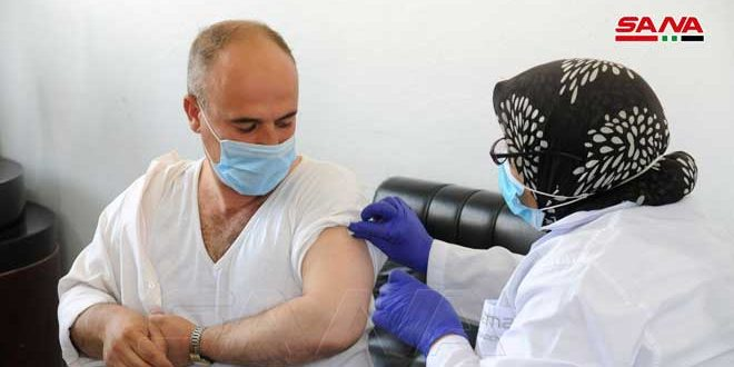 В провинции Дамаск вакцинированы от коронавируса 20 тысяч человек