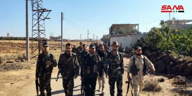Прочесывание селений Млеха Аль-Гарбия и Млеха Аш-Шаркия в провинции Дараа