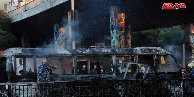 Сирийские студенты и члены сирийской общины в Испании осудили теракт в Дамаске