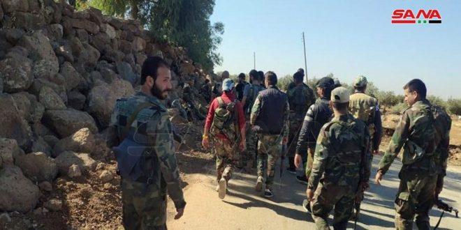 Армейцы начали прочесывать город Аль-Храк в провинции Дараа