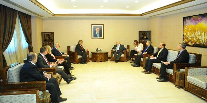 Muallim ve Mikdat IFRC Başkanı ve Eşliğindeki Heyet ile Görüştü