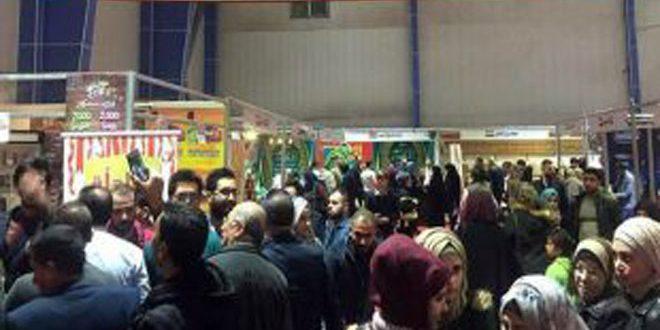 Suriye ürünleri fuarına 1 milyonu aşkın ziyaretçi